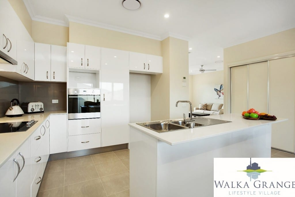 Retirement Village, Rutherford, Walka Grange, Maitland, Retirement Maitland, Lifestyle Resort, Display Kitchen,